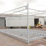 Steel Frame for Modular Building